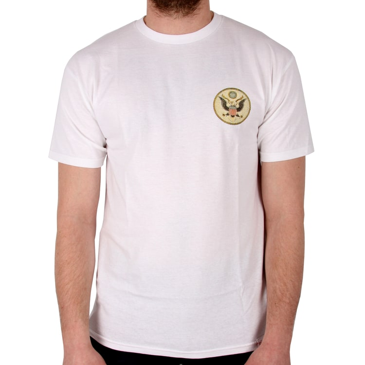 Diamond Supply Co Heavyweight Seal T Shirt - White