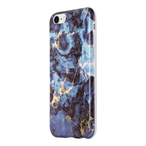 Aero Marble Gel iPhone Case - Blue