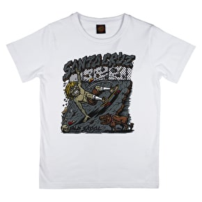 Santa Cruz Old Skool Kids T-Shirt - White