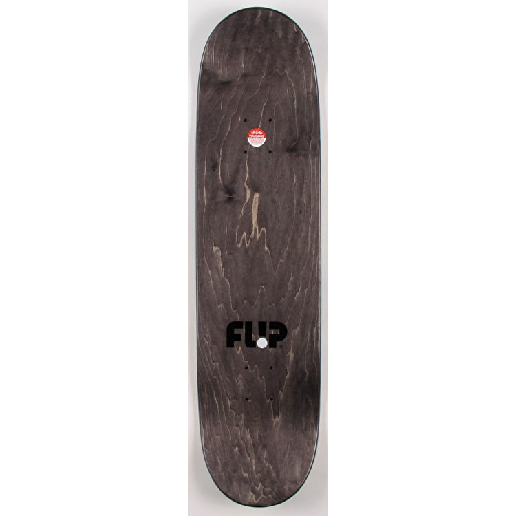 Flip Odyssey Peace Skateboard Deck - Green 8.25""