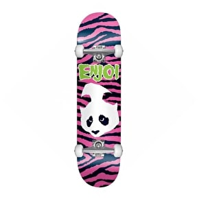 B-Stock Enjoi Punk Doesn't Fit Complete Skateboard - Pink 7.75