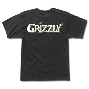 Grizzly x Venom OG Bear T-Shirt - Black
