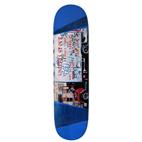 A Third Foot Mean Streets Skateboard Deck - United Stove 8.0