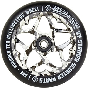 Striker Essence Scooter Wheel - Black Camo - 110mm