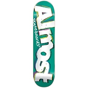 Almost Neoexpressionalism Skateboard Deck - Teal 8