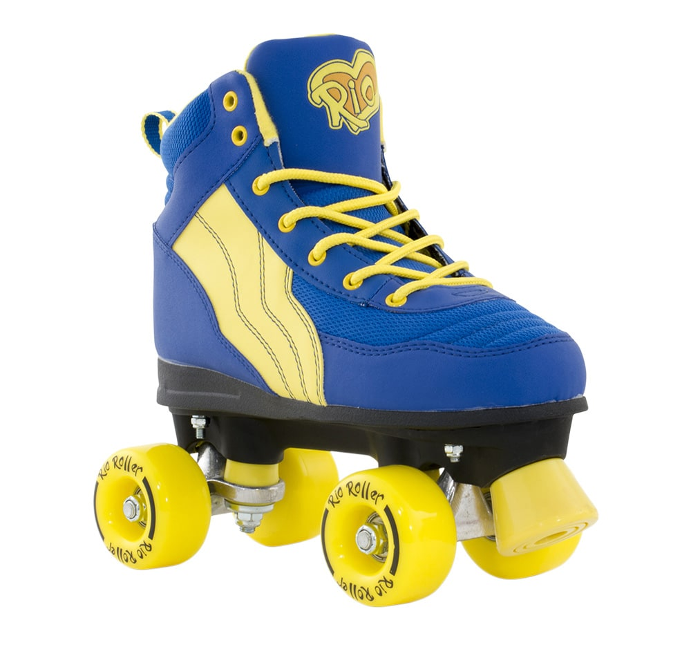 Roller skates for sale dubai - Free Delivery Rio Roller Pure Quad Roller Skates Blue Yellow
