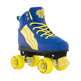Rio Roller Pure Quad Roller Skates - Blue/Yellow