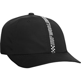 Huf Pole Position CV 6 Panel Cap - Black