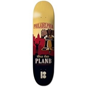 Plan B Skateboard Deck - Traveler Pro Spec Cole 8.25