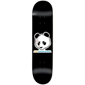Enjoi Skateboard Deck - Vato Panda R7 Black 8.5