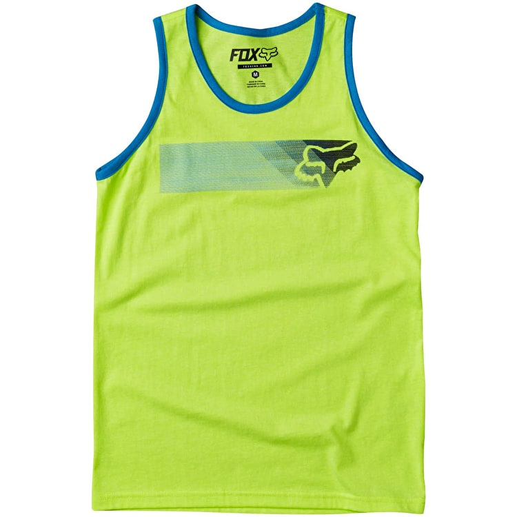 Fox Wired Youth Tank Top - Flo Yellow