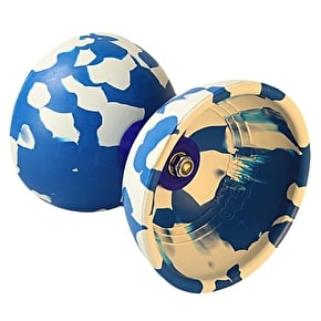 Juggle Dream Jester Diabolo Starter Pack - White/Blue