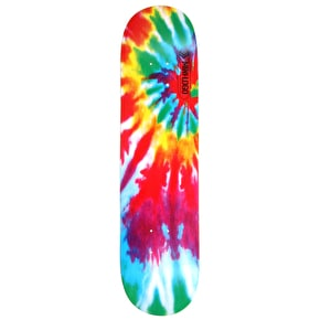 Mini Logo Skateboard Deck - Small Bomb Tie-Dye