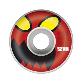 Toy Machine Monster Face Skateboard Wheels - Natural 52mm