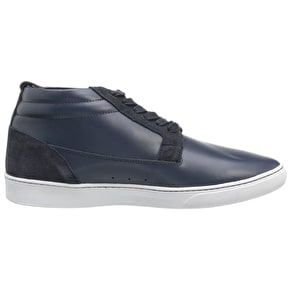 WeSC Lifestyle Hagelin Shoes - Navy Leather