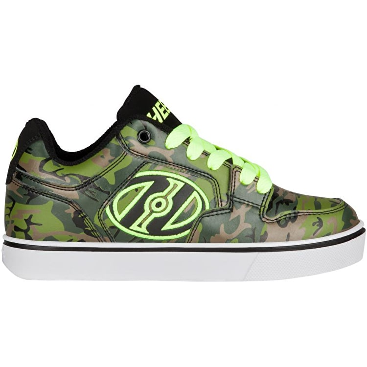 Heelys Motion Plus - Green Camo/Bright Yellow