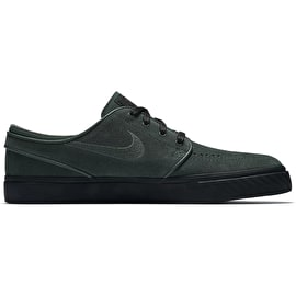 Nike SB Zoom Stefan Janoski Skate Shoes - Midnight Green/Midnight Green/Black