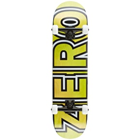 Zero Team Bold Premium Complete Skateboard - Yellow/Green 7.875