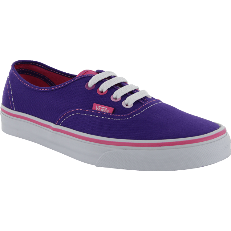 Vans Authentic Shoes - (Multi Pop) Heliotrope/Pink
