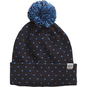 Fox Snow Bunny Beanie - Black