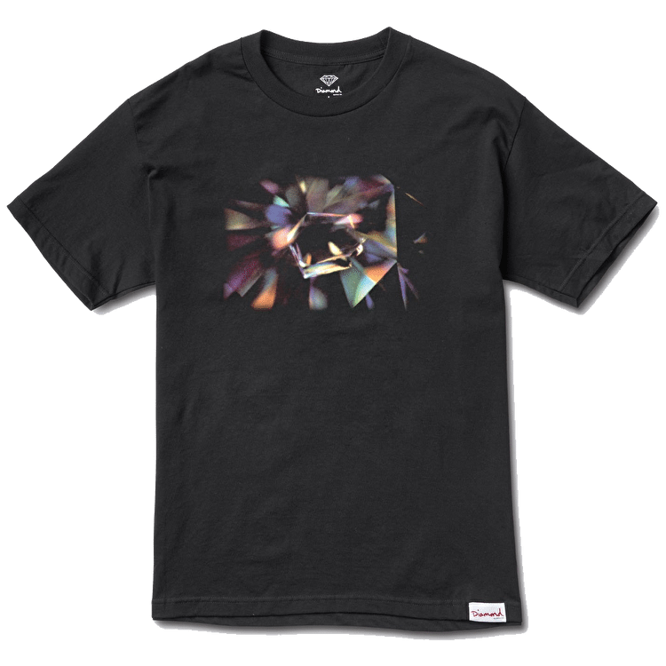 Diamond Inclusion T-Shirt - Black