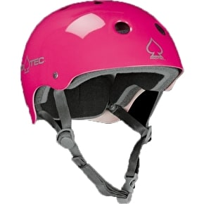 Protec Classic Punk Pink Skate Helmet - Extra Large (B-STOCK)