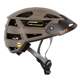 Bern FL-1 XC - MIPS Helmet With Visor - Matt Earth Toppo