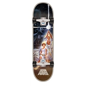 Santa Cruz x Star Wars A New Hope Poster Complete Skateboard - 7.8