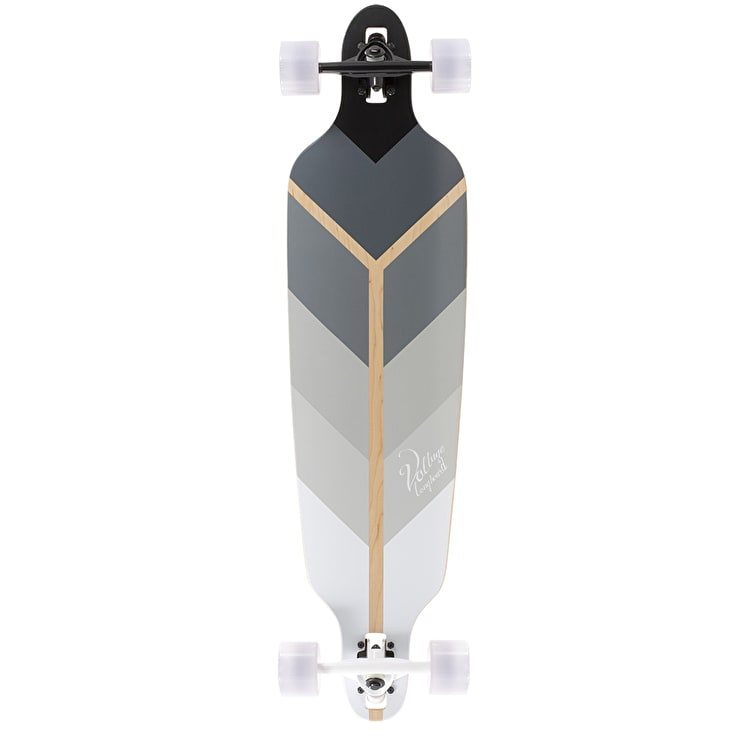 Voltage Directional DT Complete Longboard - Grey