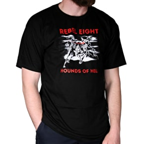 Rebel8 Hellhound T-Shirt - Black