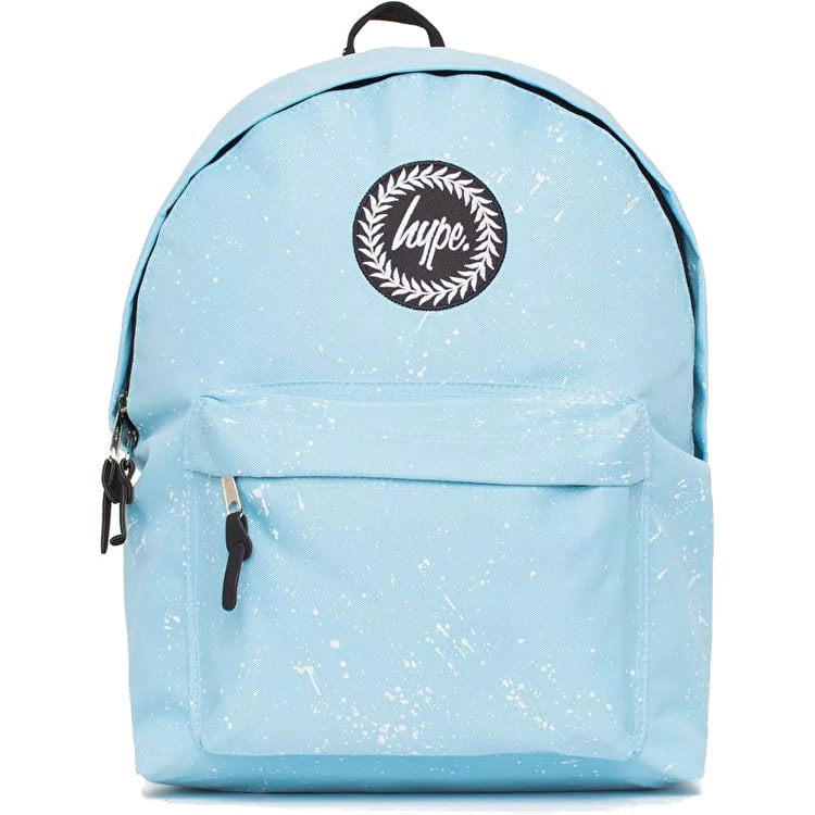 Hype Speckle Backpack - Baby Blue/White