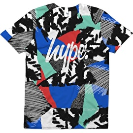 Hype Abstract Kids Sub T Shirt - Multi