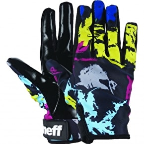 Neff Pipe Womens Gloves - Brush Stroke