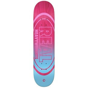 Real Heavyweights Skateboard Deck - Pink 8.25