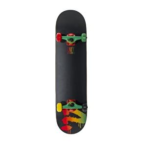 B-Stock Enuff Logo Mini Complete Skateboard - Rasta (Cosmetic Damage)