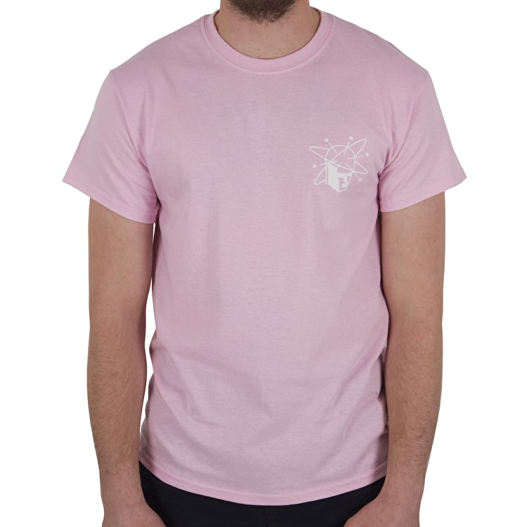 National Skateboard Co Spin T shirt - Pink