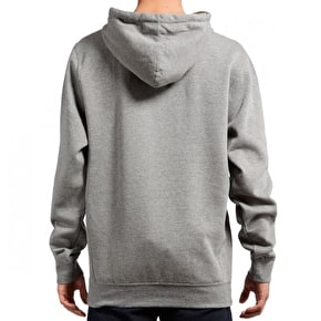 Diamond Champagne Embroidery Hoodie - Gunmetal Heather