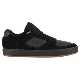 Emerica Reynolds G6 Skate Shoes - Black/Black/Gum
