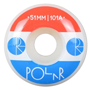 Polar Fill Logo Skateboard Wheel - 51mm (Pack of 4)