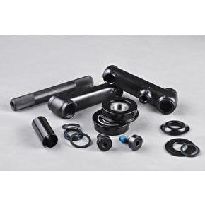 Rocker 8T Cranks and Pedals - Black