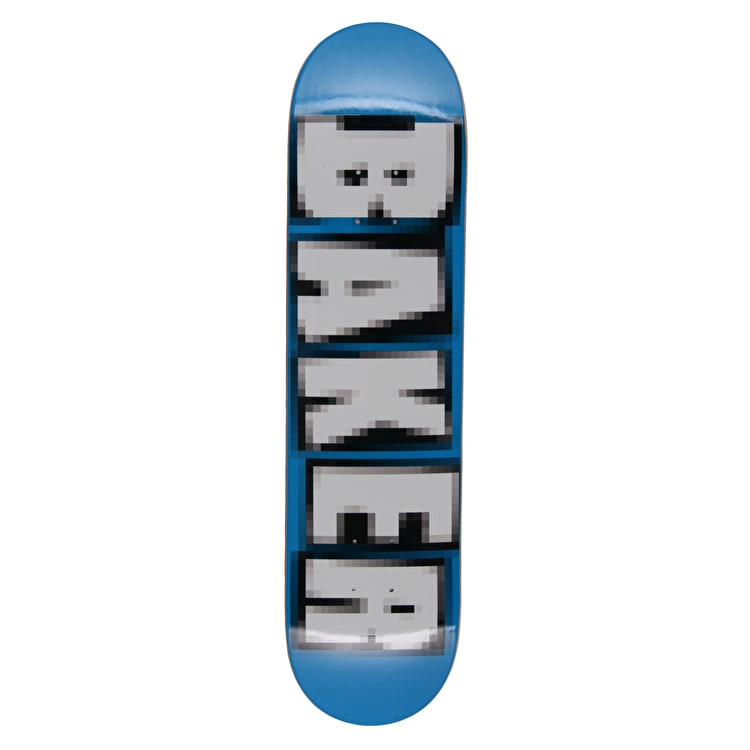 Baker Brand Name Pixelated Reynolds OG Skateboard Deck - 7.75""