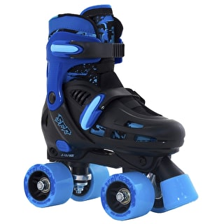 SFR Storm II Adjustable Quad Roller Skates - Blue
