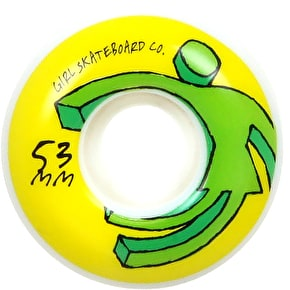 Girl Action OG 98A Skateboard Wheels - 53mm