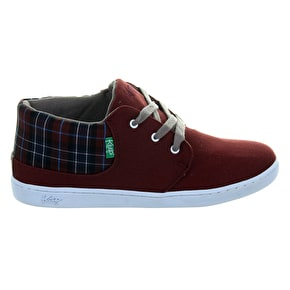 Keep Ramos Shoes Maroon Blanket/Plaid