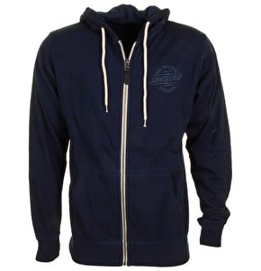Santa Cruz Zip Hoodie - Bolt Carbon Denim