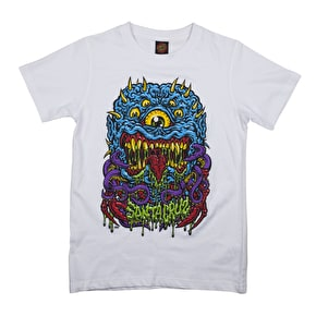 Santa Cruz Freak Kids T-Shirt - White