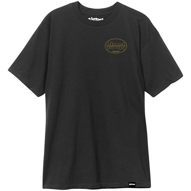 Almost Undercover T Shirt - Black