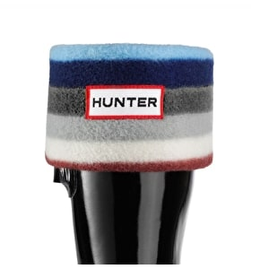 Hunter Kids Wellington Boots Socks Multi Blue