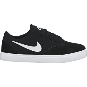 Nike SB Check Kids Shoes - Black/White