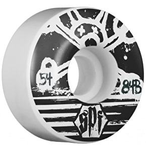 Bones Skateboard Wheels - SPF Blackout 54mm 84b